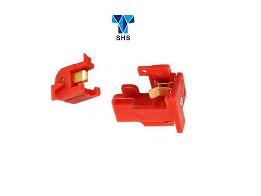 SHS - Trigger Switch Box for V2 Gearbox M4/M16 AEG Series  - Red - NB00273-RD
