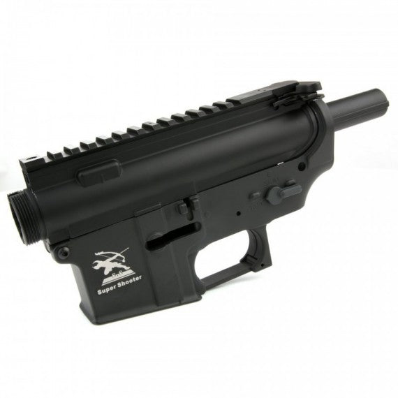 Super Shooter -  Full Metal Body for M4/M16 AEG - Black