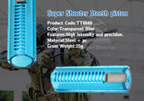 Super Shooter - Full Teeth (1 Steel) Piston (Clear Blue) - TT0046