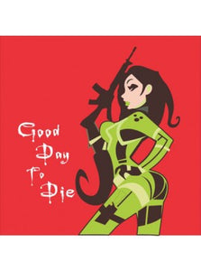 "Tiger Tactical Airsoft Kill Rag - ""Good Day To Die!"""
