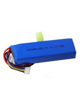 Airsoft Lipo Battery - 1300mah 3S (11.1V) 25C BRICK