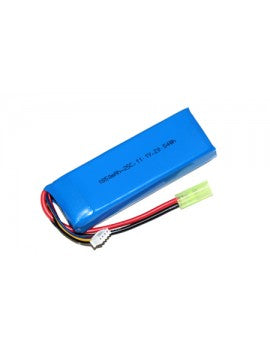 Airsoft Lipo Battery - 1850mah 3S (11.1V) 25C BRICK