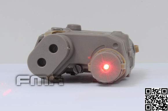 FMA - NAVY SEAL/SOF LA-5 PEQ15 Battery Box with Red Laser (DE) - 5212