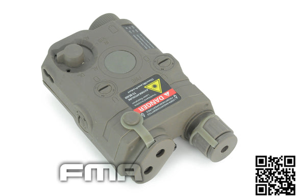 FMA - NAVY SEAL/SOF LA-5 PEQ15 Battery Box with Red Laser (FG) - 5210