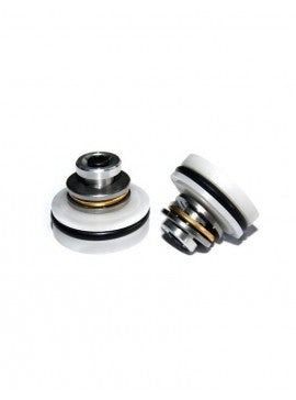 SHS - Ported POM Piston Head with Ball Bearings - White - PT0022WT