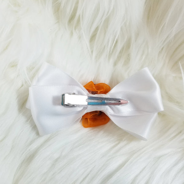 Amaterasu-Inspired Hair Bow