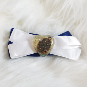 Clockwork Heart Hair Bow
