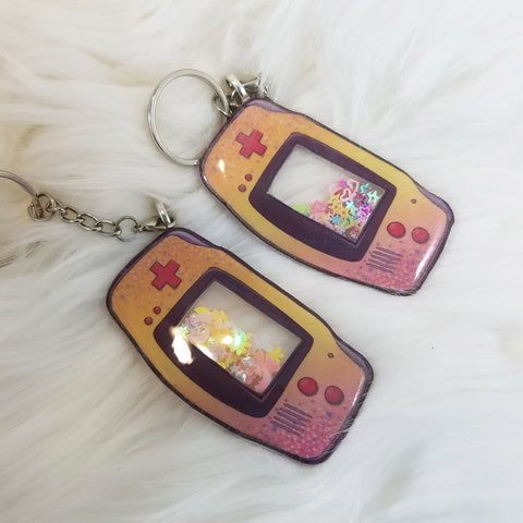GameBoy Advance Shaker Charm