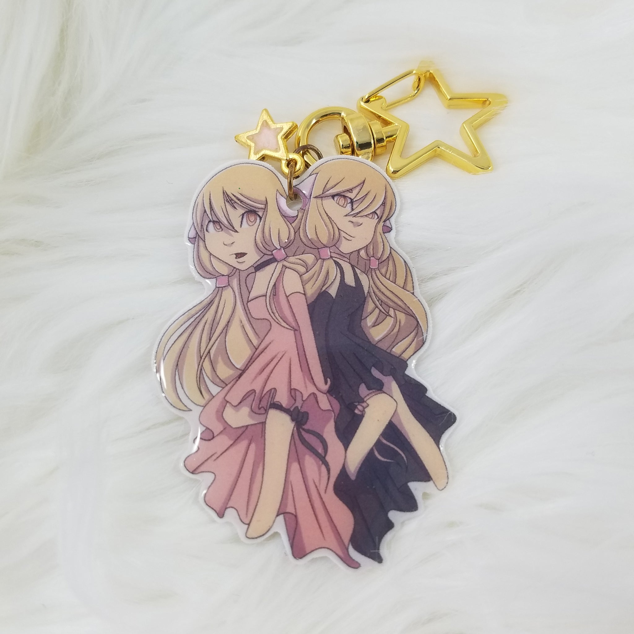 Chii and Freya Keychain