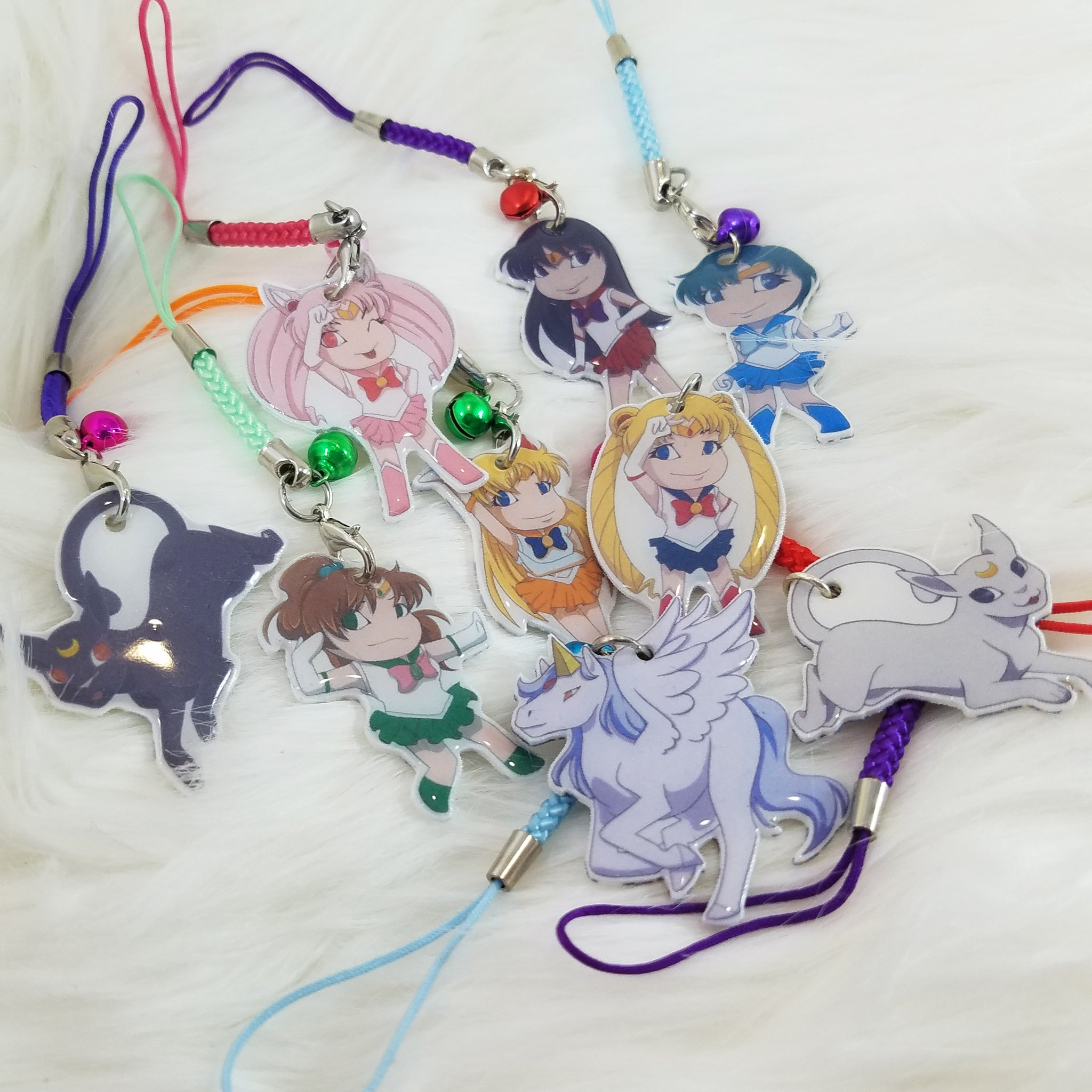 Sailor Moon Charms