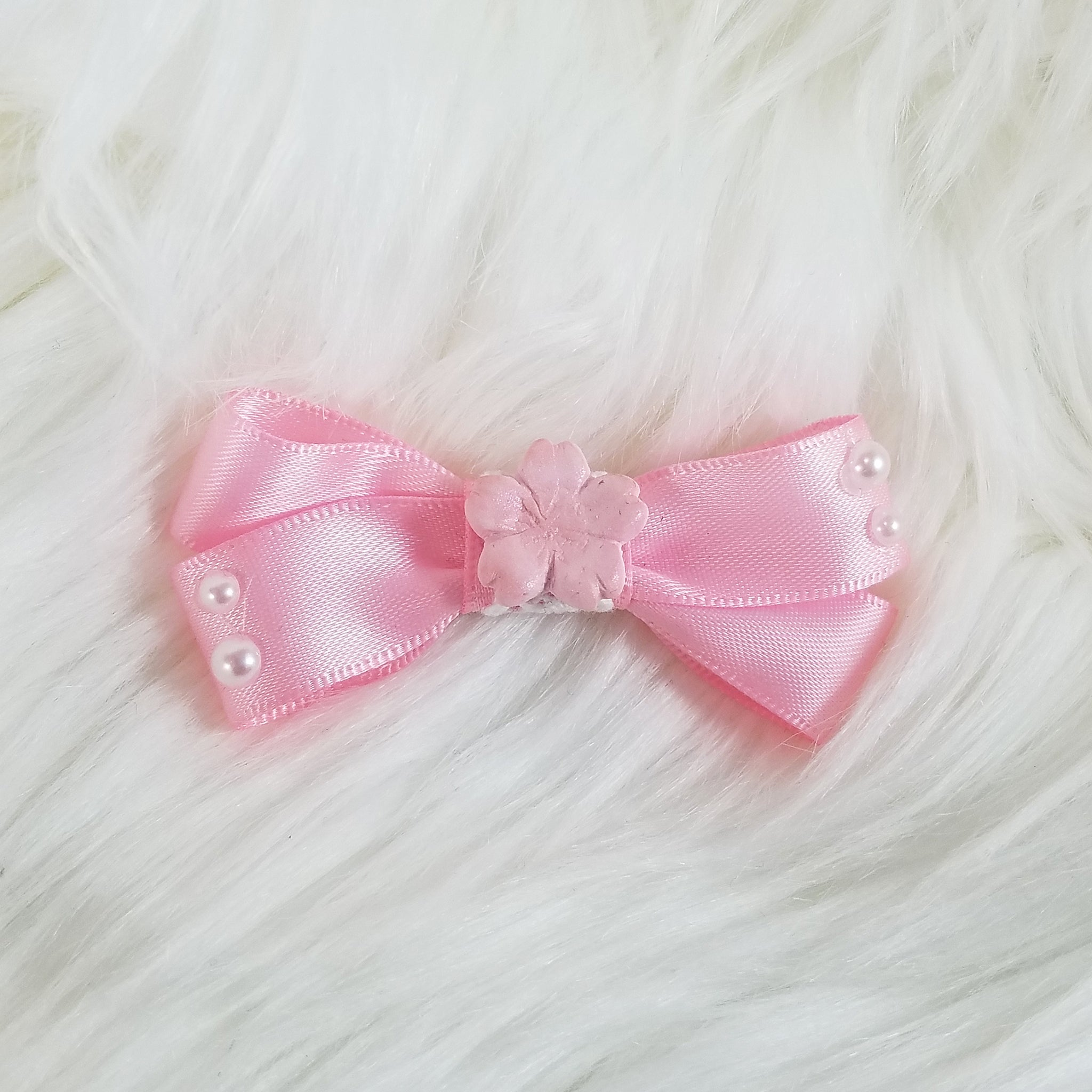 Sakura Dreaming Miniature Hair Bow