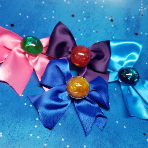 Sailor Scout-Inspired Hair Bow