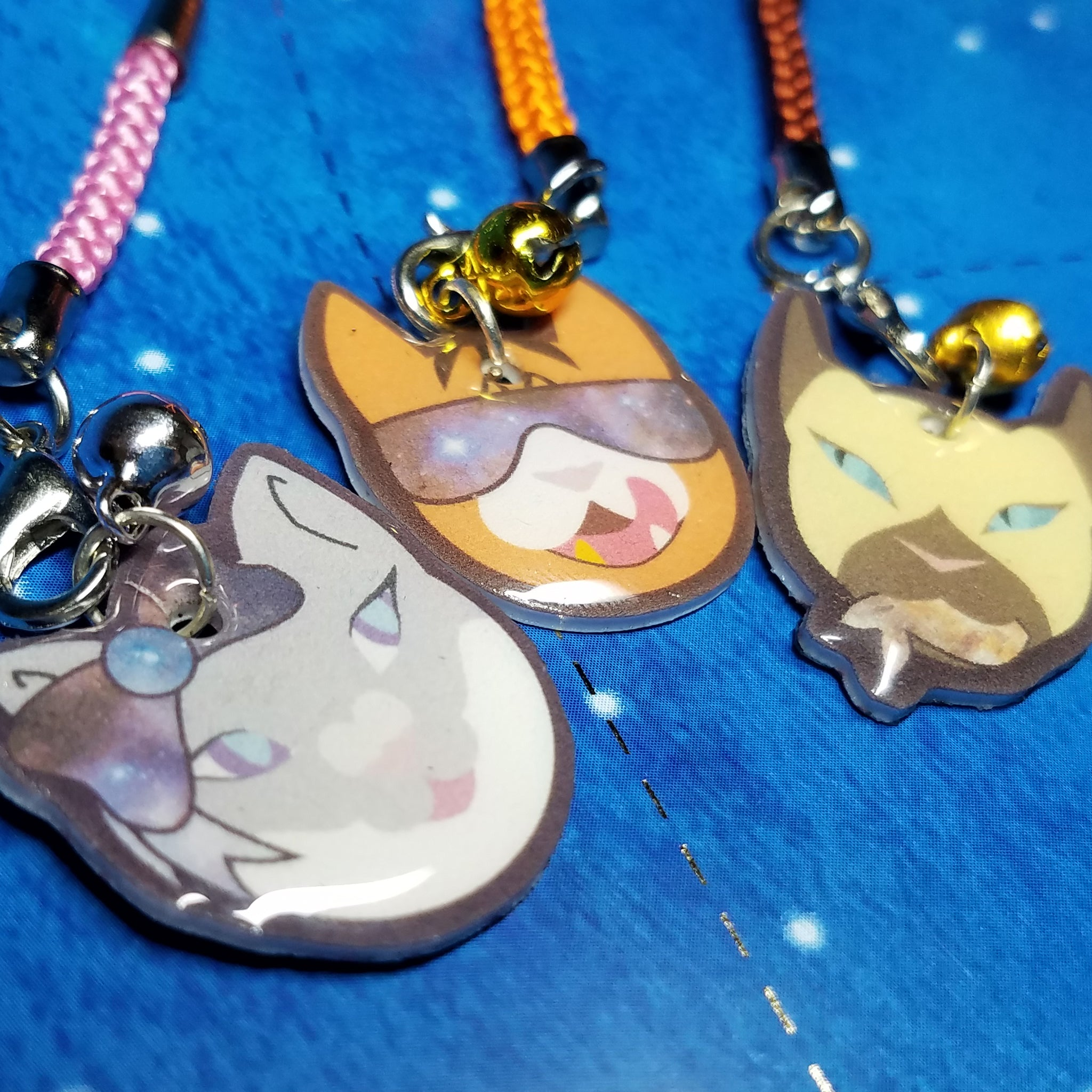 Space Cat Charms