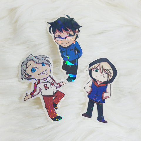 Yuri on Ice Stickers