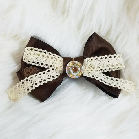 Afternoon Tea Hair Bow