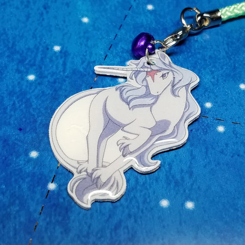 The Last Unicorn Charms