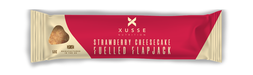 Strawberry Cheesecake Flapjack
