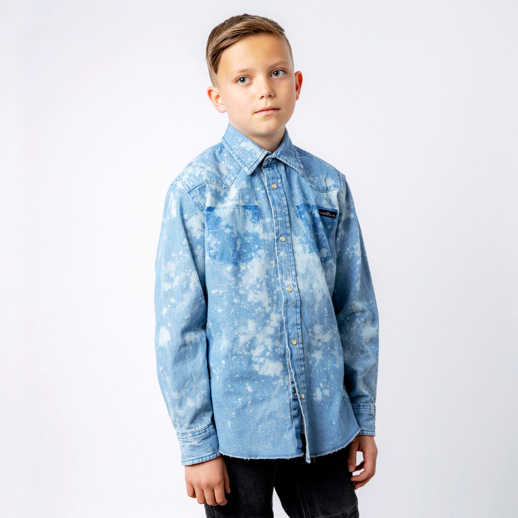 Munkstown Youth Denim Shirt