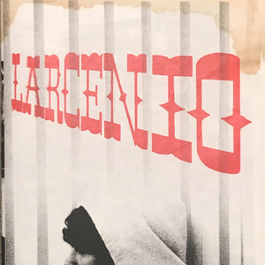 "Barry McGee ""Larcenio"" zine (Not For Sale)"