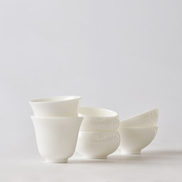Handmade Porcelain Tea Cups