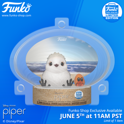 Funko Shop Exclusive Item: Piper Vinyl Figure!