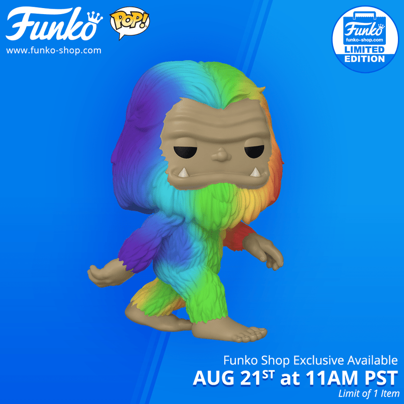 Funko Shop Exclusive Item: Pop! Myths: Rainbow Bigfoot