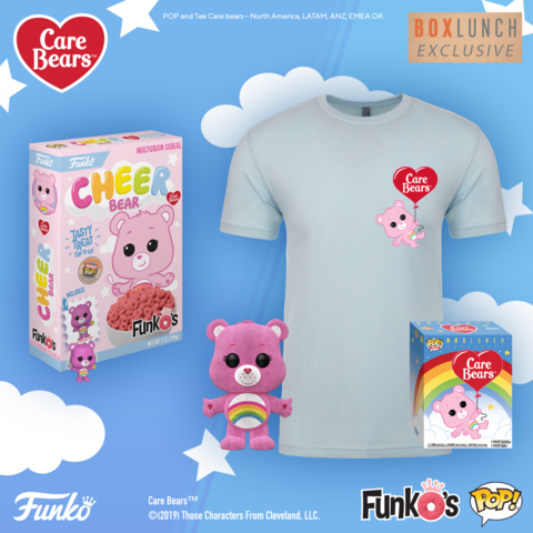 Coming Soon: BoxLunch Exclusive Cheer Bear FunkO's & Pop! & Tee!