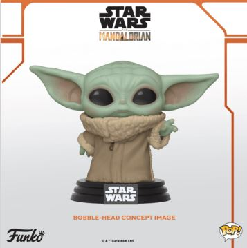 Coming Soon: Pop! Star Wars™: The Mandalorian —The Child!