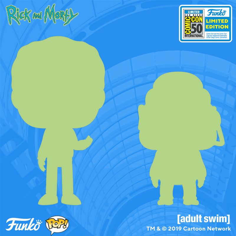 2019 SDCC Exclusive Reveals: UPDATE -Rick and Morty!