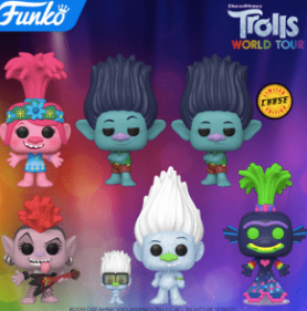 Coming Soon: Pop! Movies—DreamWorks Trolls World Tour!