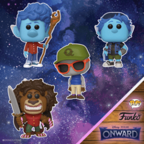 Available Now: Pop! Disney and Pixar: Onward