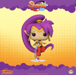 Coming soon: Pop! Games: Shantae