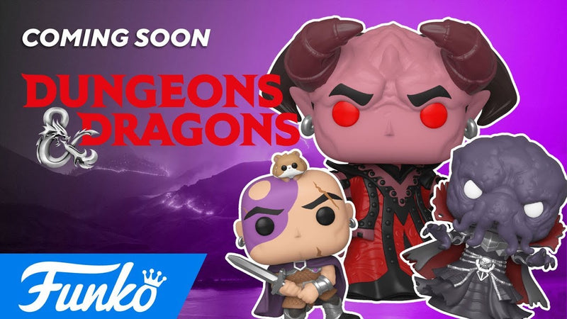Coming Soon: Pop! Games - Dungeons & Dragons