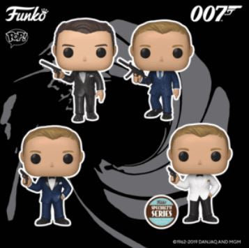 Coming soon: Pop! James Bond