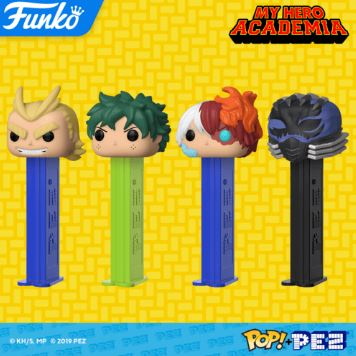 Coming Soon: My Hero Academia Pop! PEZ!