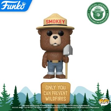 Coming Soon: Smokey Bear Pop!