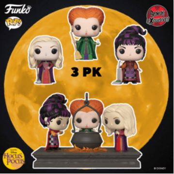 Coming Soon: Spirit Halloween and Spencer's Exclusive Hocus Pocus Pop!