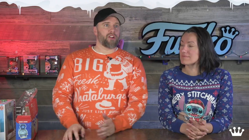 Holiday Unboxing with Funko!