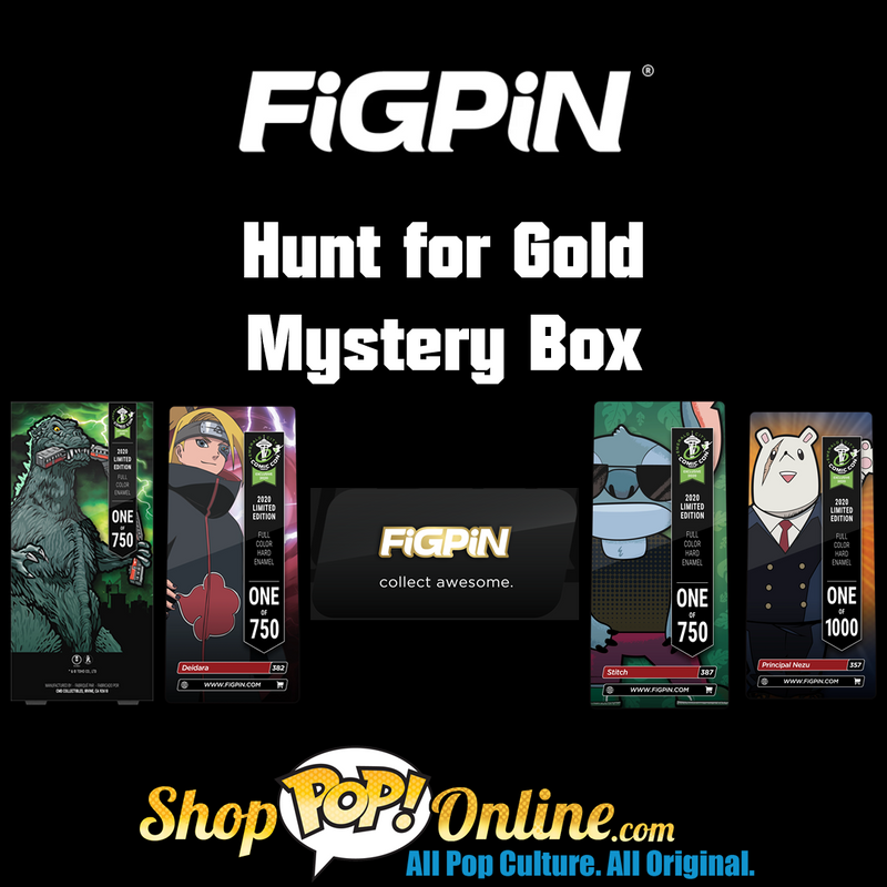 FiGPiN Hunt for Gold Mystery Box