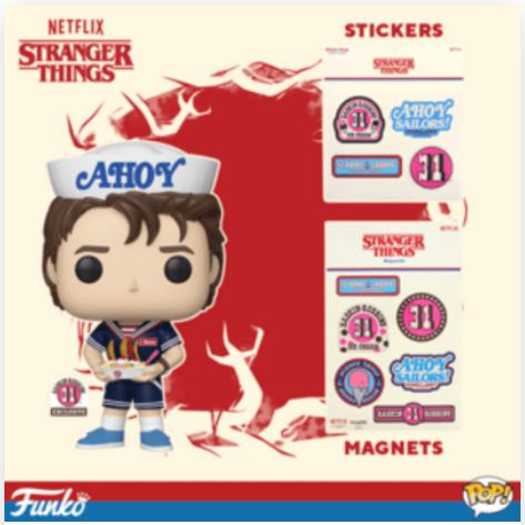 Coming Soon: Baskin-Robbins Exclusive Stranger Things Steve Pop!