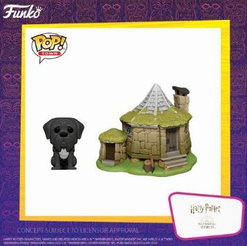 Coming Soon: Pop! Town—Harry Potter—Hagrid's Hut with Fang