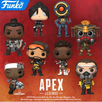 Coming Soon: Pop! Games - Apex Legends