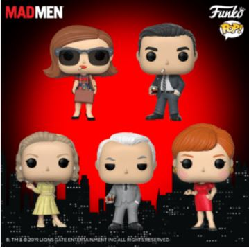 Coming Soon: Mad Men Pop!