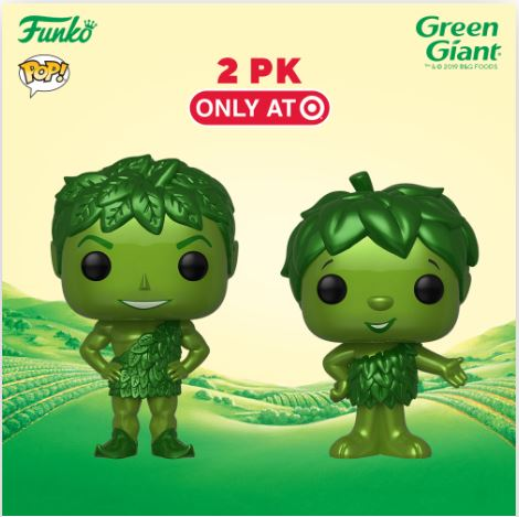 Coming Soon: Target Exclusive Green Giant & Sprout Pop! 2-Pack!