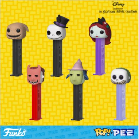 Coming Soon: Nightmare Before Christmas Pop! PEZ!