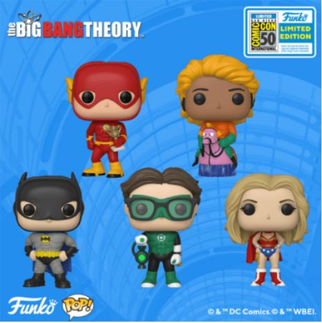 2019 SDCC Exclusive Reveals: The Big Bang Theory!