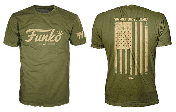 Funko Tee: Support Our Veterans