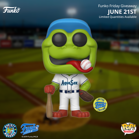 Home Jersey Webby Pop! Giveaway at Funko Field!