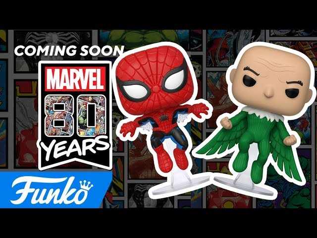More Pop! Marvel 80th!