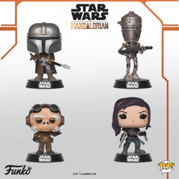 Coming Soon: Pop! Star Wars —The Mandalorian!